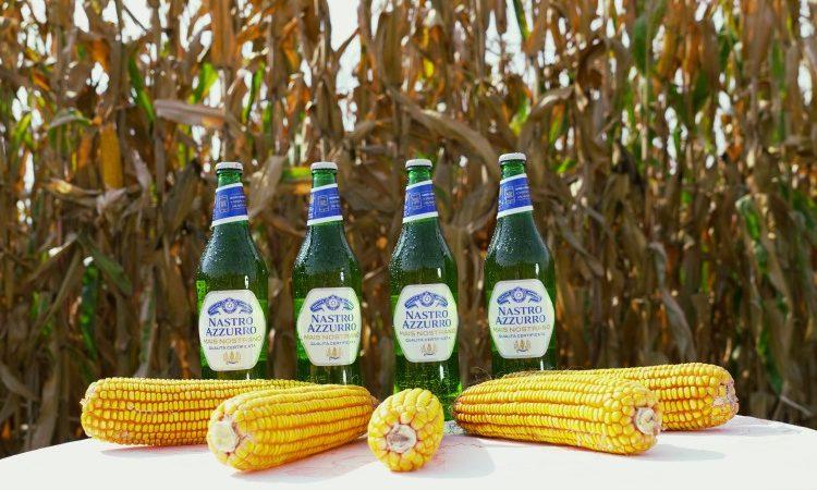 Nastro azzurro racconta la raccolta del mais con gli agricoltori della propria filiera