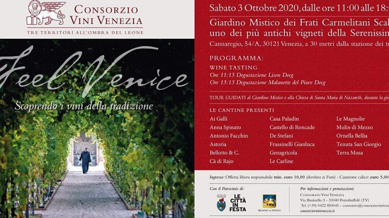 Feel Venice 2020: torna l'evento che celebra l'eccellenza enologica di Venezia