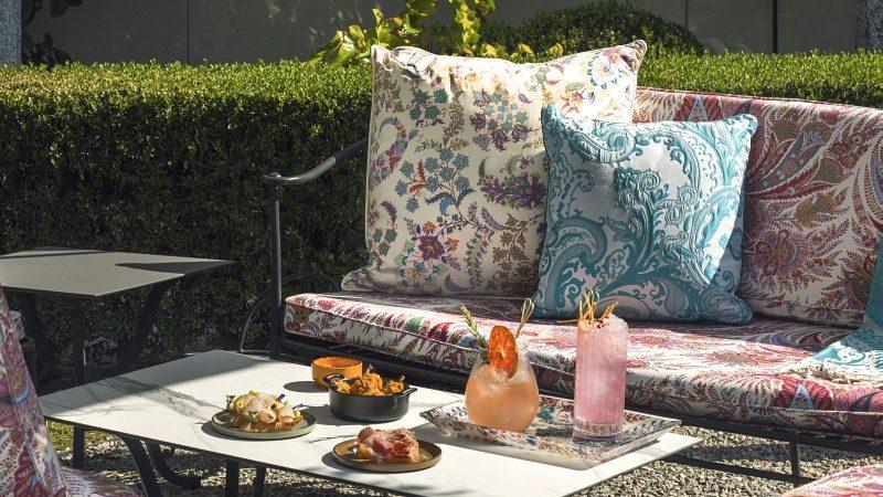 Al Four Seasons Hotel Milano l'inedito Etro garden