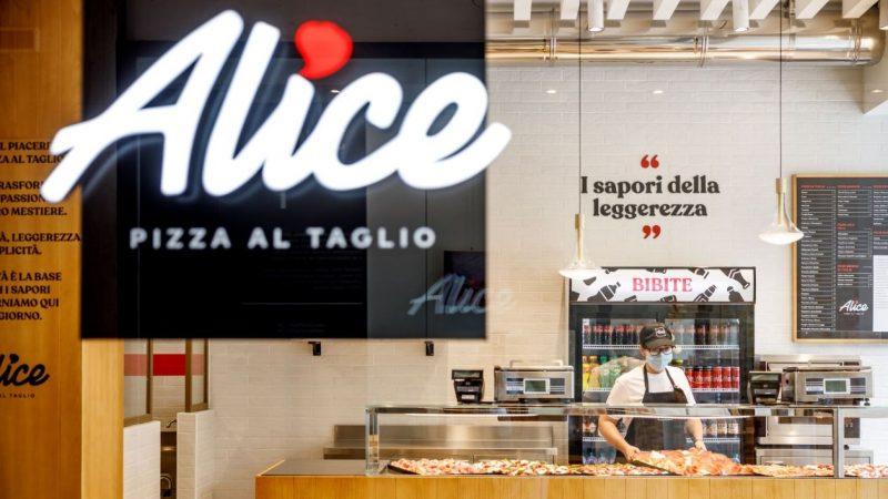Alice Pizza apre la sua prima pizzeria con Accademia in Corso Buenos Aires a Milano