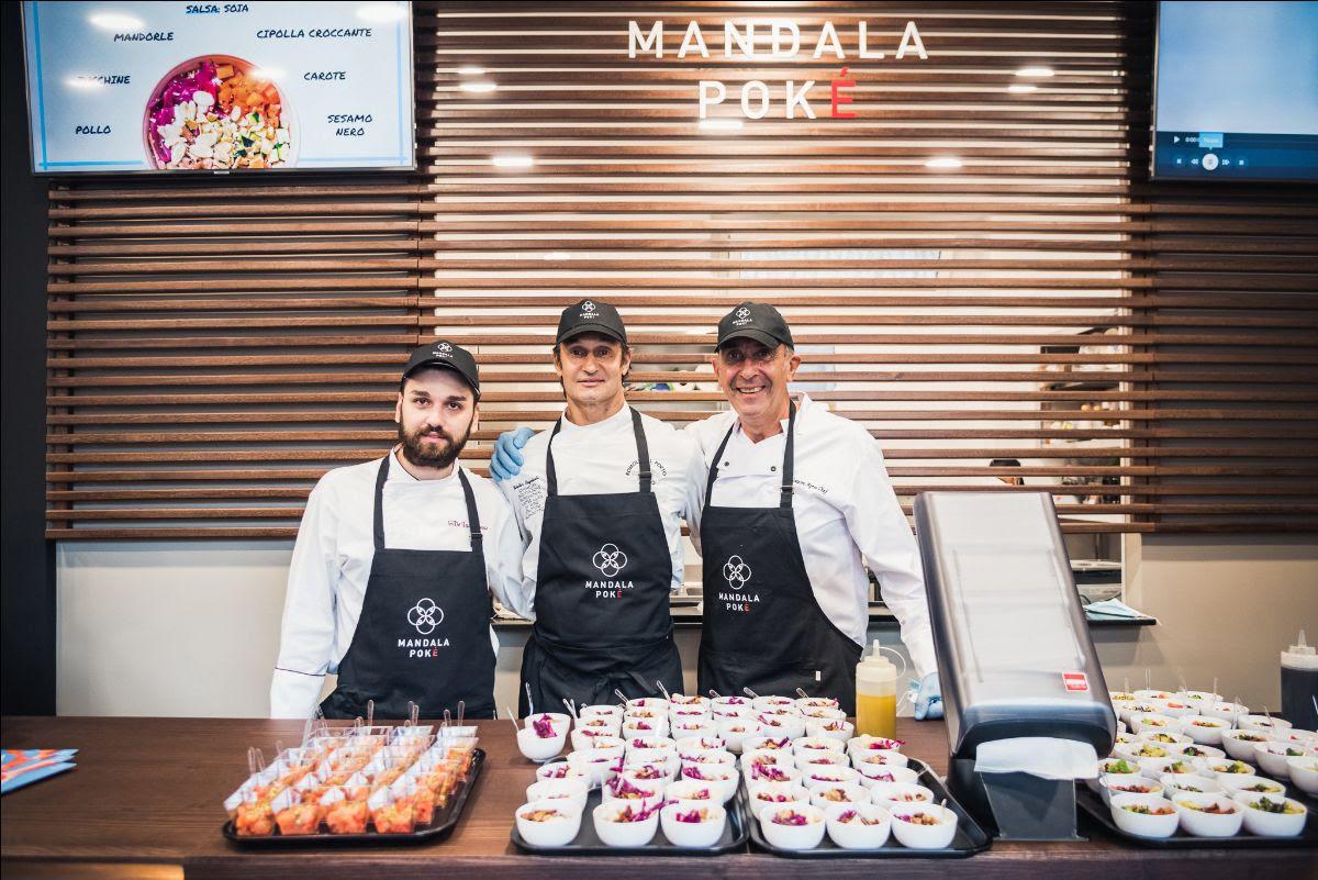 Mandala Poké a Roma: nuova apertura firmata chef Walter Regolanti