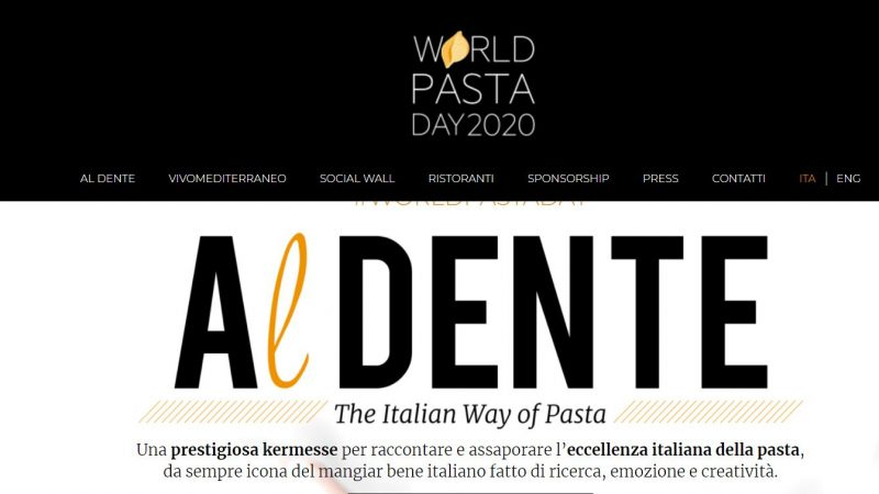 Domenica 25 ottobre 2020 è il  World Pasta Day, ecco dove vale la pena assaggiarla