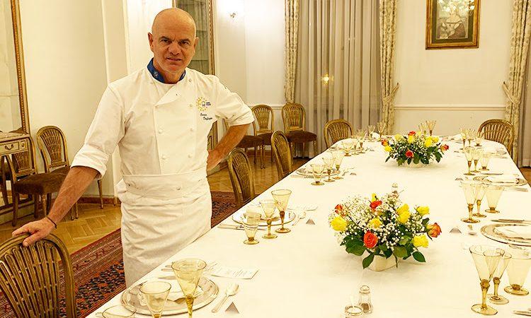 Ambasciator porta buona cucina italiana: Enrico Derflingher a Varsavia