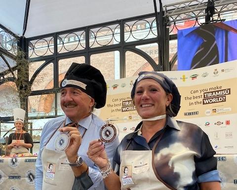 Tiramisù World Cup: vincono Stefano di Venezia ed Elena dal Belgio