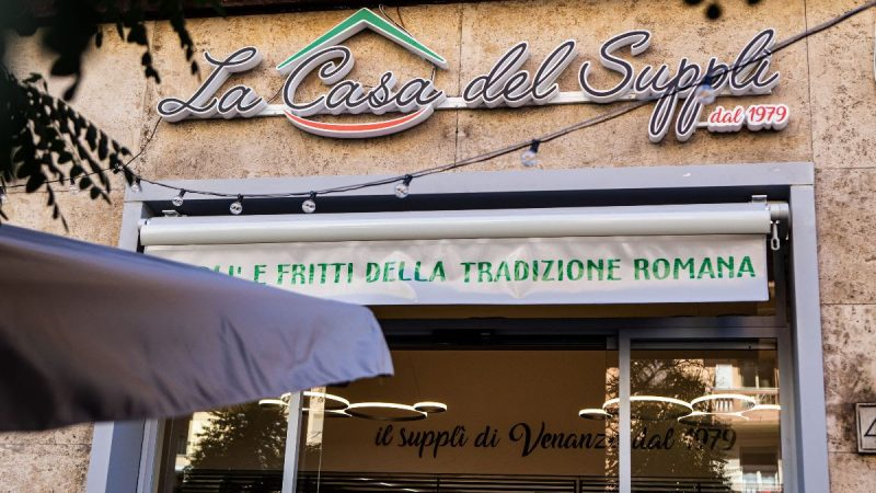 La Casa del Supplì apre a Furio Camillo la sua terza sede
